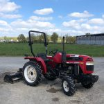 Compact Tractor 20CV with flail mower